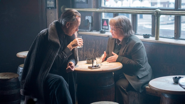 Richard E. Grant, left, and Melissa McCarthy in 'Can You Ever Forgive Me?' (Mary Cybulski / Fox Searchlight Pictures via AP)