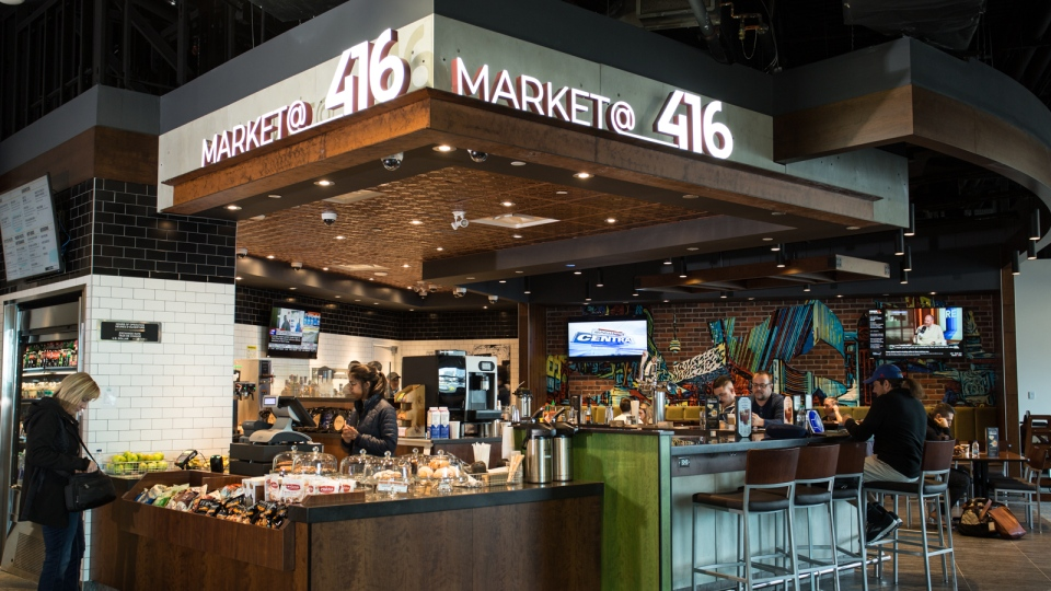Market@416 opened last week at Billy Bishop Airport. (Billy Bishop Airport)