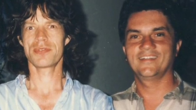 Mick Jagger and Roger Ashby are seen.