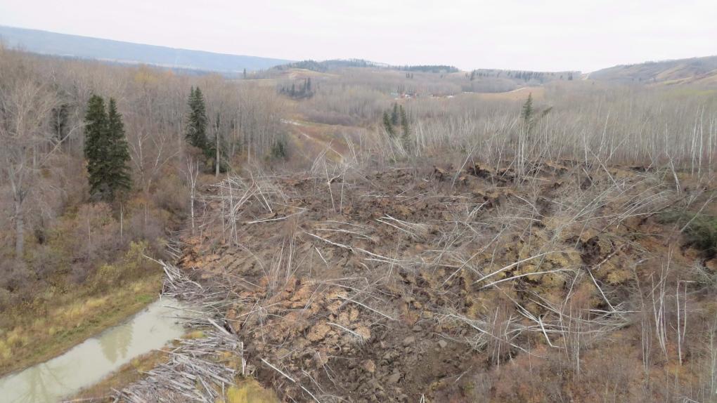 fort st. john landslide