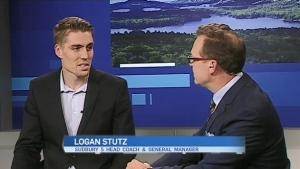 Sudbury Five Head Coach Logan Stutz