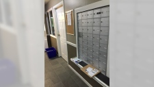 Unsecured mail