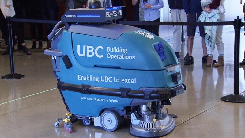 UBC using robot cleaners