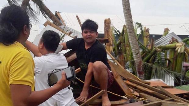 NASA Catches Super Typhoon Yutu Making Landfall