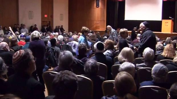 Vancouver Jewish community holds vigil