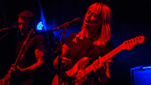 Welsh trio The Joy Formidable took the stage at Vancouver's Fox Cabaret to promote their new album, Aaarth, on Oct. 27, 2018. (Photos by Anil Sharma Photography)