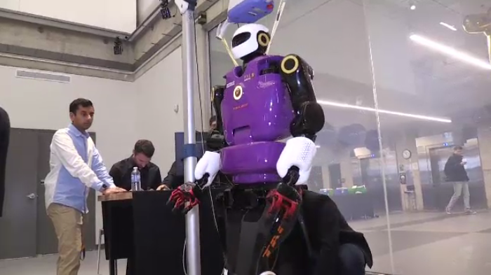 Talos, the world's only commercially-available humanoid robot, cost $1 million and can speak 30 languages.
