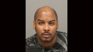 Jerahmeil Selvyn Wilson, 32, is seen in this police handout.