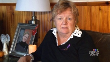 Grieving mother Susan Campbell