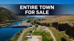 If you've got a bit of cash to spare, you could be the proud owner of this entire deserted lakeside town.
