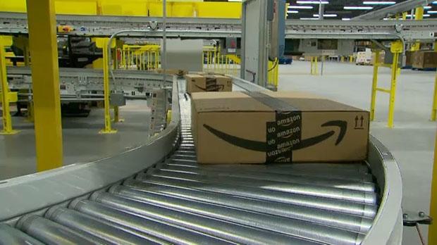 Amazon, Balzac, Amazon Fulfillment centre, amazon