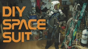 A do-it-yourself spacesuit