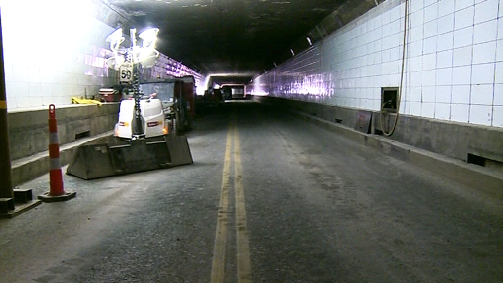 Windsor-Detroit tunnel closing on select nights this fall