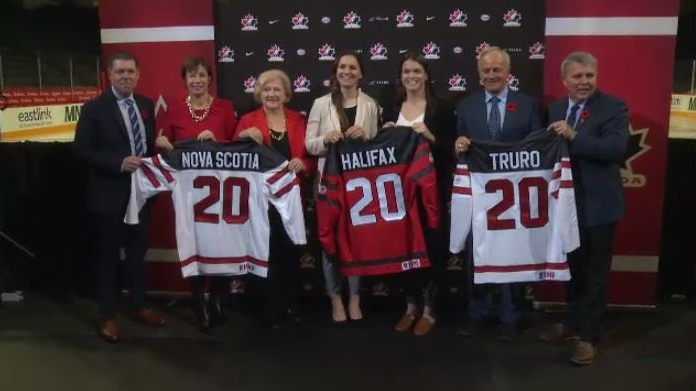 Nova Scotia's top doctor says plans are in place to stage the women's world hockey championship in the province next month with limited spectators.