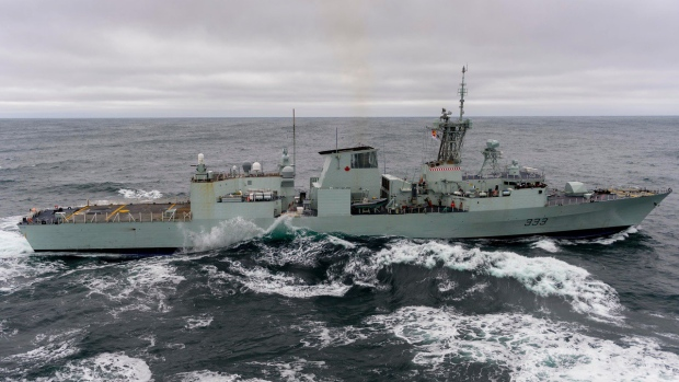 Second Royal Canadian Navy ship catches fire while deployed
