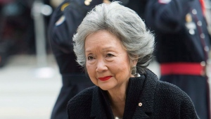 Former governor general of Canada Adrienne Clarkson. THE CANADIAN PRESS/Nathan Denette
