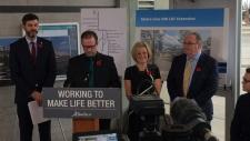 LRT funding announcement