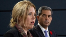 Conservative MP Michelle Rempel speaks