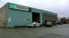 Police investigating Mississauga auto body shop