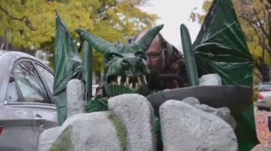 Mtl makers create amazing dragon costume