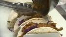 Jackfruit tacos, a meatless menu option at Blanco Cantina. The 17 Ave SW restaurant recently introduced Meatless Mondays