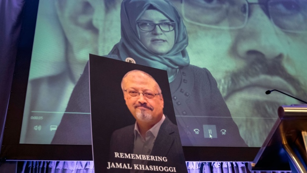Memorial for Jamal Khashoggi,