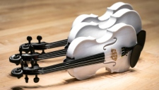 3D printed violins