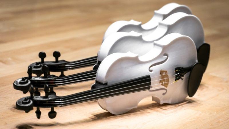 3D printed violins (Ottawa Sympony Orchestra /  @OttawaSymphony)