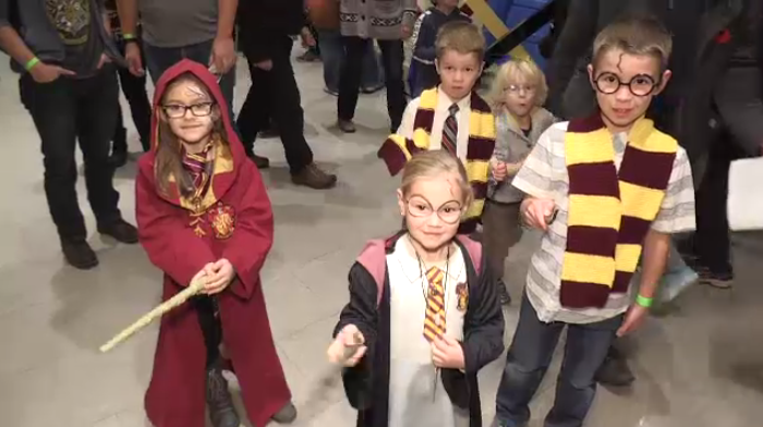 Over 2000 Harry Potter fans gathered in Guelph for the school of witchcraft and wizardry.