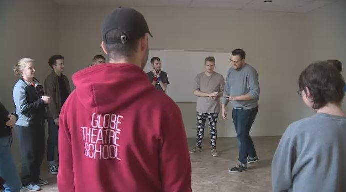 Improv for Autism is a class put on by the Globe Theatre, aimed at helping people with autism get connected with their community, have fun and break out of their shells.