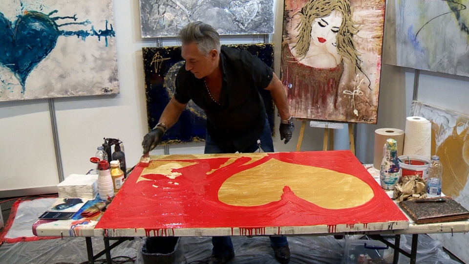 A service offers to incorporate deceased people's ashes into works of art.