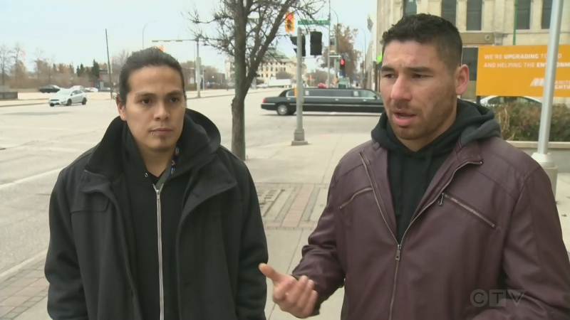 Man stabbed after fight on Winnipeg bus