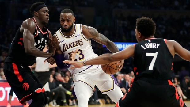 lakers raptors. Los Angeles Lakers  LeBron James ... b13834b8b