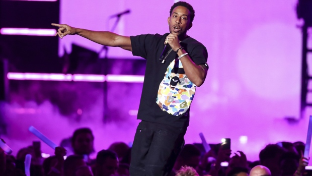 Ludacris performs in Las Vegas