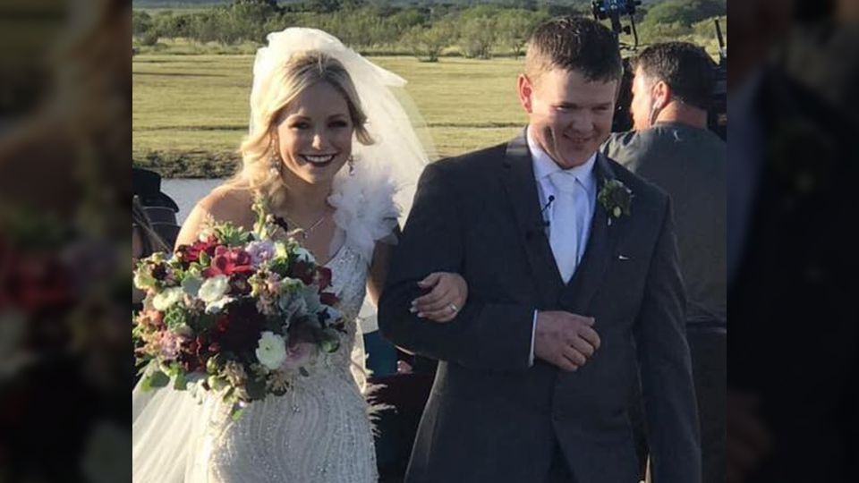 Bailee Ackerman and William Byler were killed in a helicopter crash less than two hours after their wedding. (Eric Smith / Facebook)