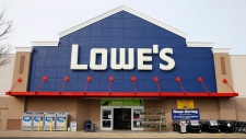 A Lowe's store is shown in Philadelphia