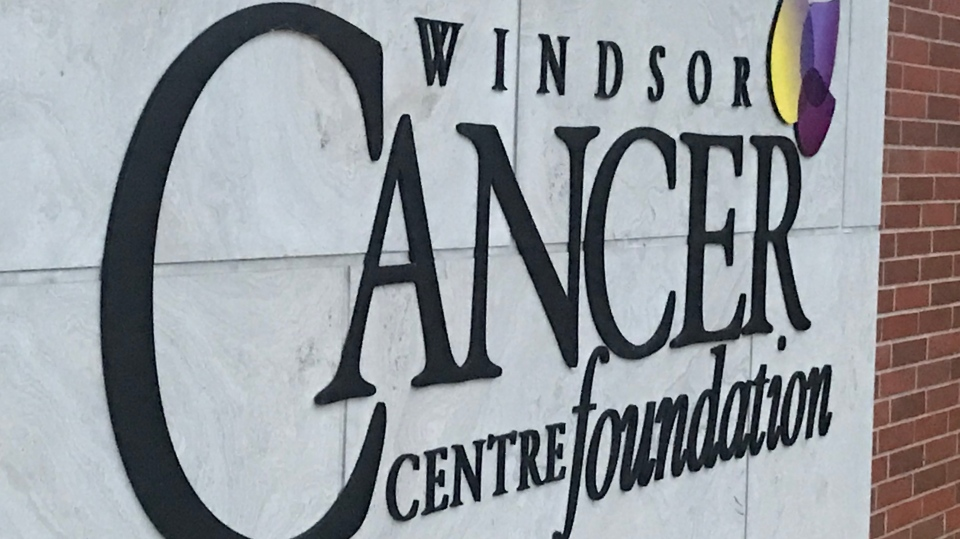A Fall file photo of the exterior of the Windsor Cancer Centre in Windsor, Ont. (Rich Garton / CTV Windsor)