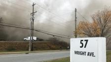 Burnside industrial park explosion