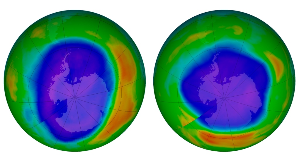 Ozone hole over Antarctica could be smallest seen in three decades