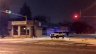 Three people were taken to hospital with life-threatening injuries after a crash at the intersection of Winnipeg Street and Victoria Avenue on Nov. 6. (JACKIE PEREZ/CTV REGINA)