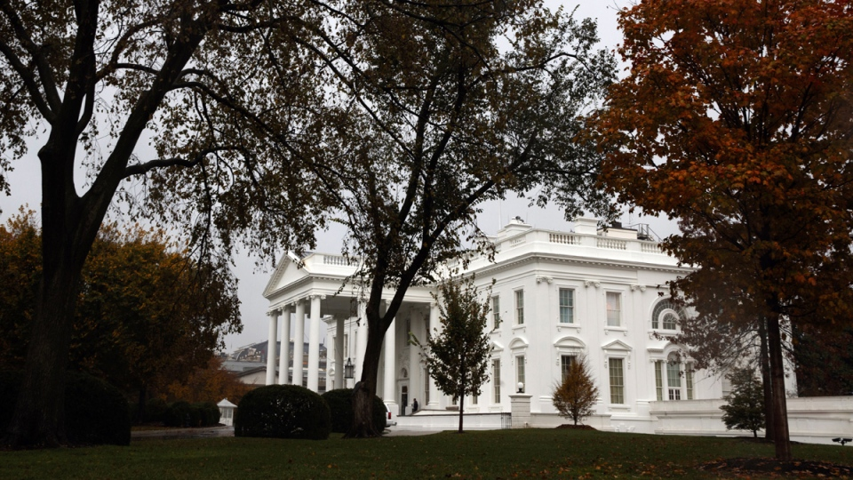 A view of the White House on election day, Nov. 6, 2018. (Evan Vucci / AP)