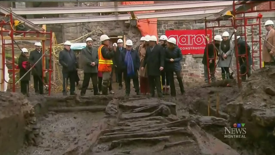 The Beaucours Rampart was built in 1693 out of wood and earth in order to protect Quebec City's western flank from cannonfire. It was discovered in October 2018.