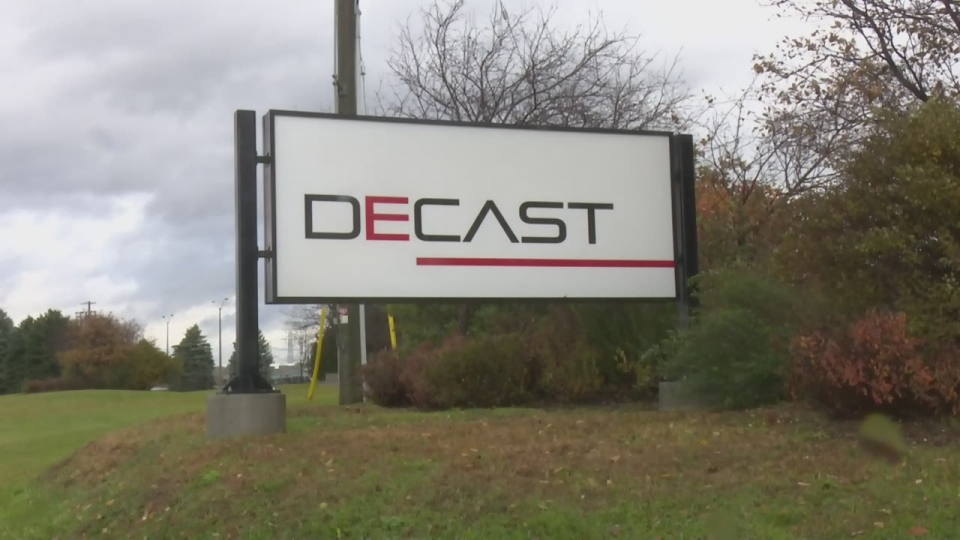 DECAST in Essa Township, Ont. on Tuesday, November 6, 2018 (CTV News/Rob Cooper)