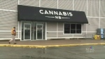 More than half of N.B.'s cannabis stores will be closed on Wednesday.