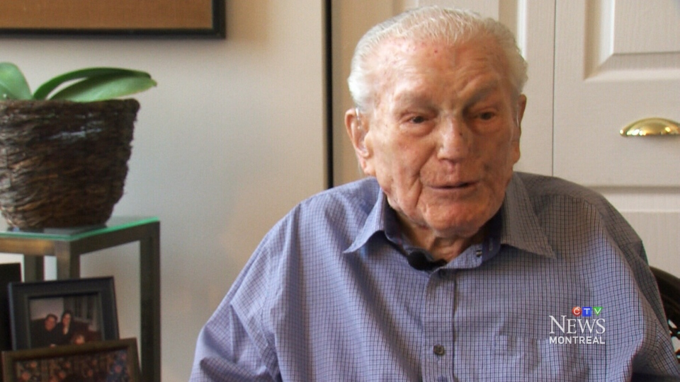 At 110 years old, Robert Wiener of Montreal is the oldest man in Canada. But he doesn't see what all the fuss is about, he just had good genes.
