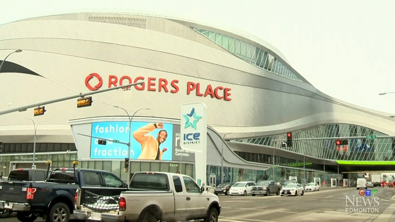 Rogers Place in Edmonton