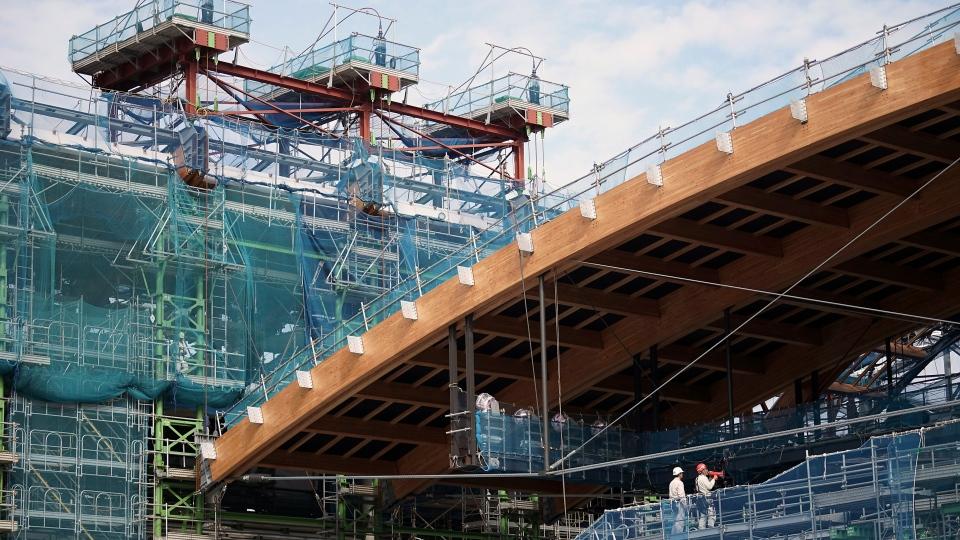 2020 Toyko Olympics Roof