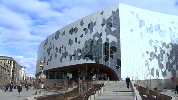 Calgary's New Central Library, library, grand open