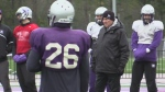 Mustangs football preps for Yates Cup