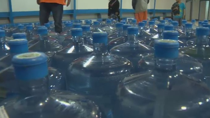 Ahousaht, an island community off Tofino, has declared a state of emergency over two serious threats to its water supply - contamination and low reservoir levels. Nov. 6, 2018. (CTV Vancouver Island)